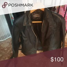 Leather jacket Size 2 Jackets & Coats
