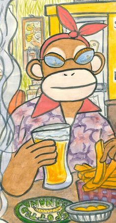 The Near-Sighted Monkey