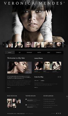 Luxs Hair Moto CMS HTML Templates by Delta … | Pinteres…