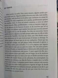 """Sergio Carrión """"En un mundo de grises"""" <Mira cariño, es tarde...>"""