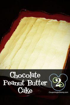 Kristin's Kitchen:  Chocolate Peanut Butter Cake