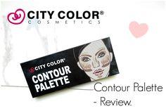 City Color - Contour Palette Review. - Beauty-Blush
