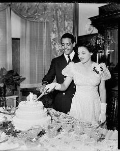 Cutting the Wedding Cake, 1930