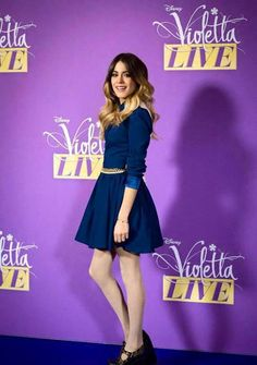 Designer Clothes, Shoes & Bags for Women Clara Alonso, Cool Outfits, Summer Outfits, Fashion Outfits, Violetta Outfits, Violetta Live, Taylor Swift, Celebrity Singers, Teen Girl Fashion