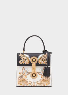 7691fd24271 Versace Средняя сумка Barocco Icon с вышивкой для женщин