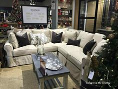 Calypso Ballard Designs Sectional Sofa In The Country My Road Trip To New U Sold