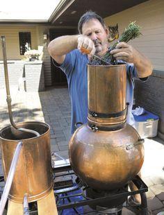 Ancient process distills lavender