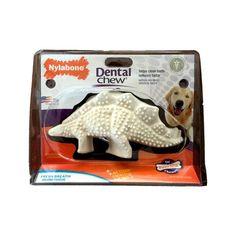 Stegosaurus Dental de Nylon para Perros Aliento Fresco - Nylabone® Dental Chew Dental, Fresco, Clean Teeth, Baddies, Toys, Dogs, Fresh, Teeth