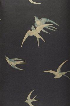 vitrine et derrière caisse Izanami | Papier peint des années 70