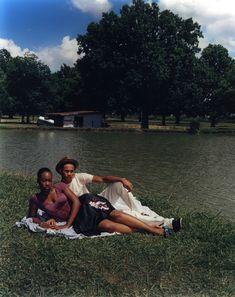 """The Lovers"" Photography by Jamil Gs (Vibe Magazine September Black Girl Aesthetic, Couple Aesthetic, Black Love, Beautiful Black Women, Ska Music, Vibe Magazine, Bae, The Love Club, River Bank"