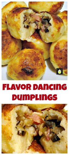 Flavour Dancing Dumplings Got some left over potatoes? Choose which filling and let your taste buds go for a dance! - Great party food and freezer friendly too. #SwedishKroppkakor