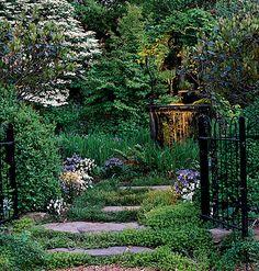 Villa garden Love Envy Pinterest Flagstone path Villas