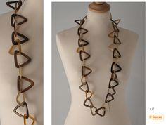 Niedliche Dreiecke die sich zu einer wunderschönen Halskette bilden! #SUNSA #Great