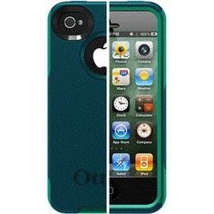 OtterBox Commuter Series f/iPhone 4/4S - Deep Teal/Light Teal  $25.99