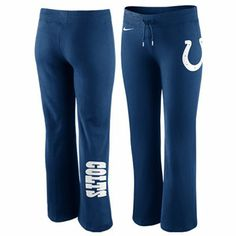 Nike Indianapolis Colts Women's Tailgater Fleece Pants - Royal Blue