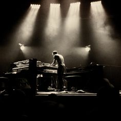 Awesome shot of Nils Frahm at the Traumzeit Festival Duisburg 2014. Picture taken by @gestalterhuette. #Music #Piano #RWInstaMusic #Photography #Instagram #MusicFestival