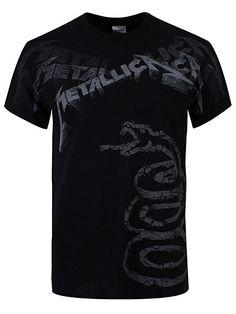 817100366252 Metallica Black Album Faded T-Shirt black: Amazon.co.uk: Clothing.  Metallica Black AlbumMetallica BandMetallica ...
