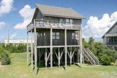 Kinnakeet Cottage: 4 Bedroom, 2 1/2 Bath - Pet Friendly - Oceanview - Avon NC