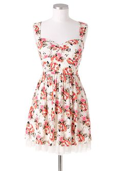 dELiAs > Open Back Floral Dress > clothes > dresses > view all dresses