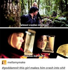 Bellamy blake crashing into things because of Clarke BELLARKE IS AMAZING AWWWWW