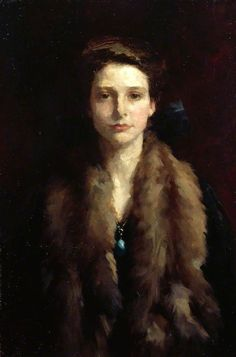 soyouthinkyoucansee:    Winifred by Samuel Melton Fisher      Date painted- winter 1924    2x posted