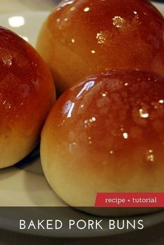 The Best Baked Pork Buns Recipe   Learn to make Baked Pork Buns with our recipe and step-by-step tutorial at DimSumCentral.com.