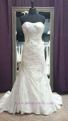 Galina Signature #SWG574 - Always a Bride Wedding Consignment, Grafton, WI