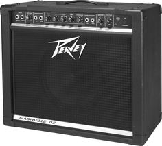 Peavey Nashville. This is pretty close to the first guitar amplifier that I owned. It's pretty loud and sounds alright. I wouldn't suggest it to anyone.