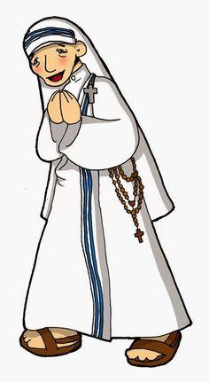Dibujos para catequesis: BEATA MADRE TERESA DE CALCUTA