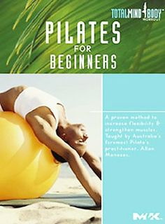 Pilates for Beginners [RA781 .P5 2005]This program will help you: strengthen abdominals, stretch the hamstrings and lower back, mobilize tight joints, improve shallow breathing [and] improve poor posture
