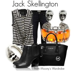 """Jack Skellington"" by evalupin on Polyvore"