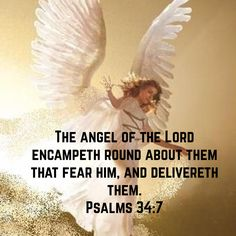 Psalms The angel of the LORD encampeth round about them that fear him, and delivereth them. Popular Bible Verses, Favorite Bible Verses, Meaningful Quotes, Inspirational Quotes, Poems About Life, Bible Qoutes, Identity In Christ, Getting Him Back, Catholic Quotes