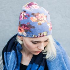Price: Flower pattern is still fashion trend. Elegant flowered cap is pleasanf for looking and it's floral print takes a first look. Soft rubber band doesn't push and holds on the head. Plus Size Tights, Lady Stockings, Patterned Tights, Winter Hats For Women, Ladies Slips, Caps For Women, Flower Patterns, Knitted Hats, Fashion Accessories