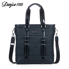 Danjue Business men handbag vertical male crossbody bag hight quality cow skin crossbody bags England style portable Handbag