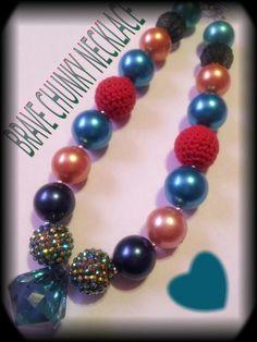Princess Brave chunky necklace