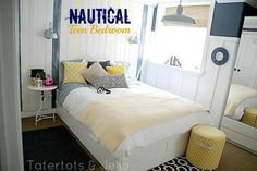 nautical teen bedroom header