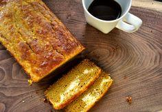 Gluten-free Pumpkin Cream Cheese Swirl Bread
