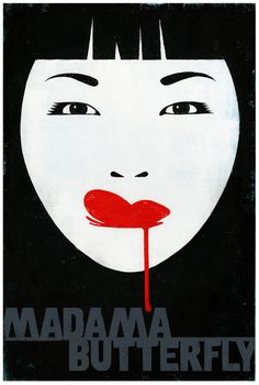 adreciclarte: Madama Butterfly by Edel Rodriguez