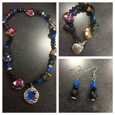 Check out this item in my Etsy shop https://www.etsy.com/listing/268573346/nighttime-dreams-jewelry-set-necklace