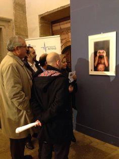 Inauguración de la exposición 'Locografías' en la Sala de la Encarnación de Zamora