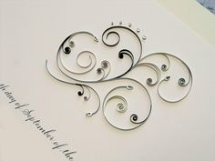 My new obsession...quilling
