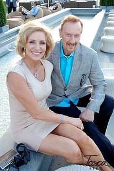 clean eating expert and author Tosca Reno and her husband Robert Kennedy, publisher of Oxygen magazine