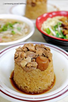 tube rice pudding | Taiwanese cuisine