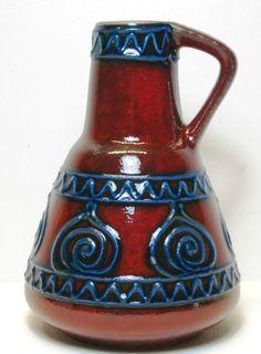 Dümler & Breiden Keramik Vase 310/15 1950er Jahre             eBay