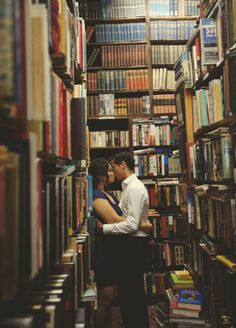 Definitely want to incorporate some in a bookstore, hopefully one that looks similar to this. Would have to research toronto-based stores for this. I'm really interested in doing some photos indoors and others outdoors =)