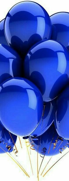 *blue balloons by night IsaRtfulfairytale Im Blue, Kind Of Blue, Blue And White, Deep Blue, Photo Bleu, Everything Is Blue, Calming Colors, Blue Balloons, Blue Wallpapers