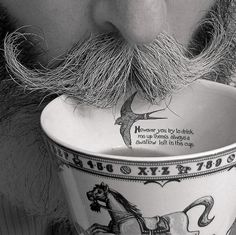 However you try to drink me up, there's always a swallow left in this cup