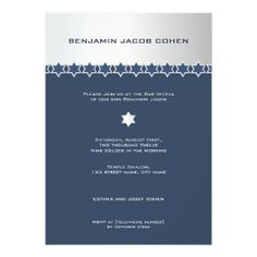 Silver  Navy - Bar Mitzvah Invitation This site is will advise you where to buyShopping          Silver  Navy - Bar Mitzvah Invitation Here a great deal...