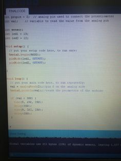 The code for this little Arduino to work