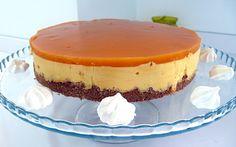 Cheesecake de manga - http://www.sobremesasdeportugal.pt/cheesecake-de-manga/